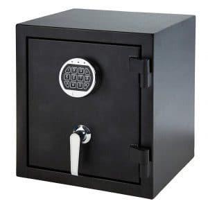 5. AmazonBasics Fire-Resistant Box Safe