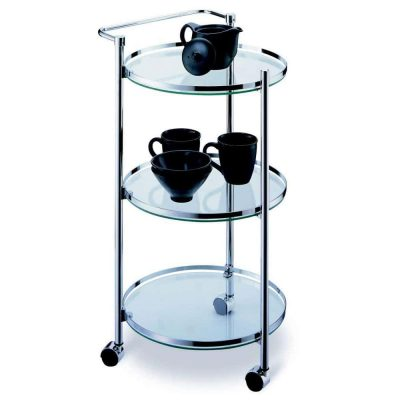 Circular 3-Tier Serving Cart from Organize It All