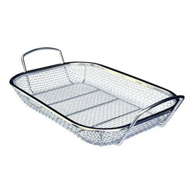 Culina Stainless Steel Square BBQ Vegetable Grilling-Basket
