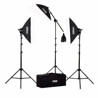 Fovitec Softbox Lighting Kit 2500W