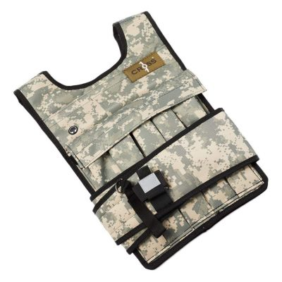 RUNmax Adjustable Weighted Vest