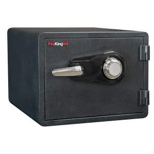 6. FireKing KY0913-1GRCL Combination Safe Tamper-proof and Water Resistant, Black