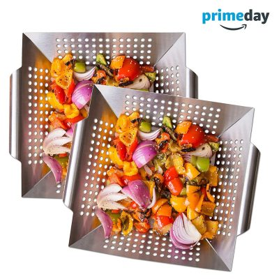 LUXURY GRILL PRODUCTS Vegetable Grill-Basket