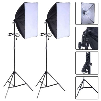 S AFSTAR Photography Softbox Lighting Kit