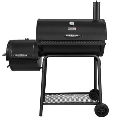 Royal Gourmet BBQ Charcoal Grill with Offset Smoker