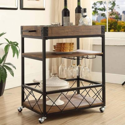 3-tier Serving Tea Wine Dining Kitchen Cart from . eHomeProducts