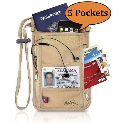 AnVyc Neck Wallet