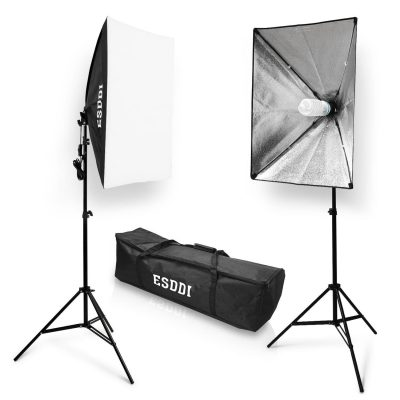 ESDDI Softbox Photography 800W Lighting Kit