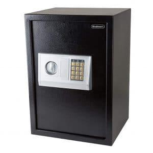 9. Stalwart Digital Safe, 2 Manual Override Keys for Home and Business