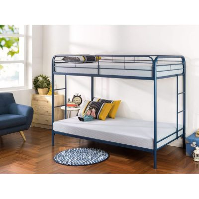 Zinus Easy Assembly Lock Metal Bunk Bed