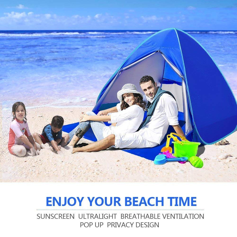 differently 30a77 3b83a Top 10 Best Beach Tents in 2019 Reviews   Buyer's Guide
