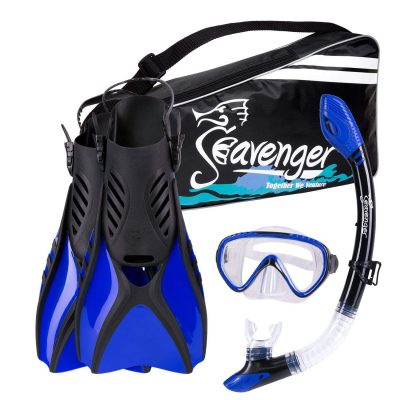 Seavenger Advanced Modern Snorkeling Gear Combo