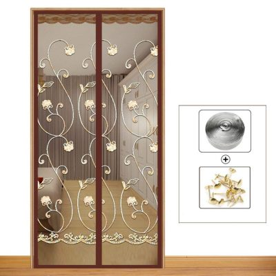 Silk Road Sliding Screen Door