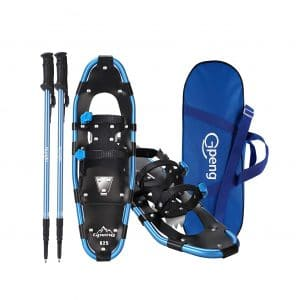 Gpeng 3-in-1 Aluminum Alloy Snowshoes