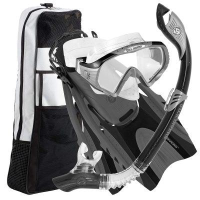 U.S. Starbuck II Purge LX Snorkeling Gear Set