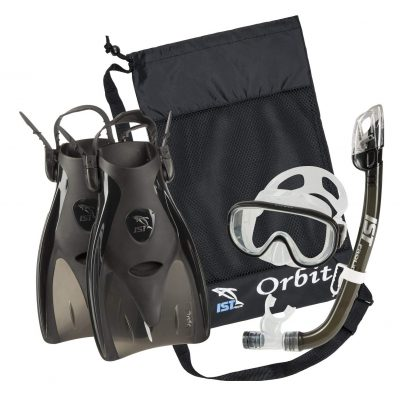 IST Orbit Snorkeling Gear Set