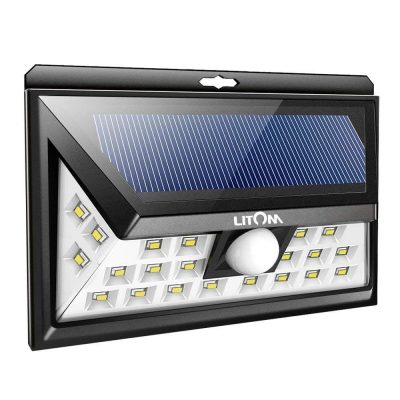 LITOM Solar Motion Sensor Lights