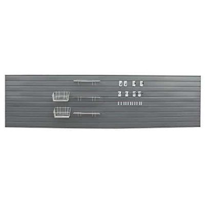 Proslat Ultimate Slat Wall with Slatwall Panels and Hook, 33509