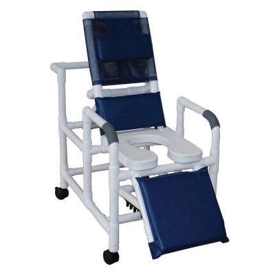 MJM International 193-SSDE Reclining Shower Chair