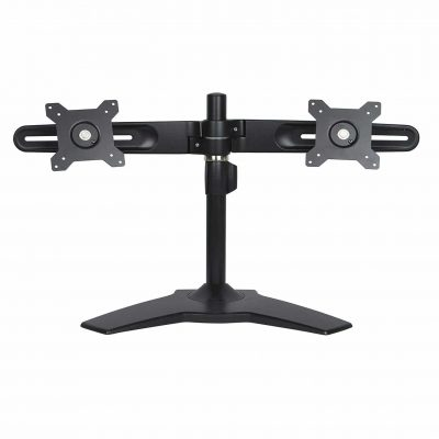 Planar Black Monitor Stand (Dual Monitor)