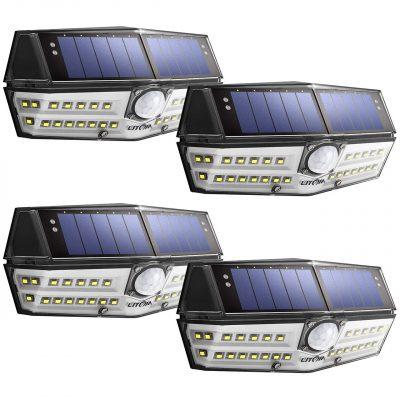 LITOM Solar Lights Sensor Lights