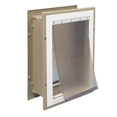Telescoping Aluminum Pet Door