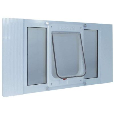 Aluminum Sash Window pet door