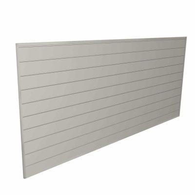 Proslat Heavy-Duty PVC Slat Wall Panels, 88109, Sandstone