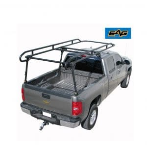 EAG Contractor Pickup Truck Ladder Lumber Rack Loads up to 1500 lbs - Full Size