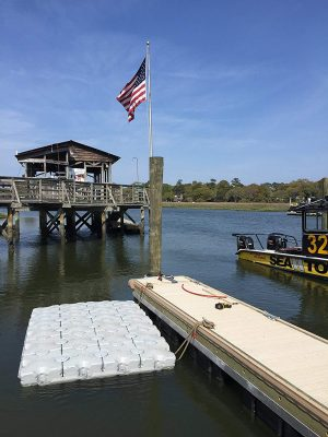 Dock Blocks Floating Dock