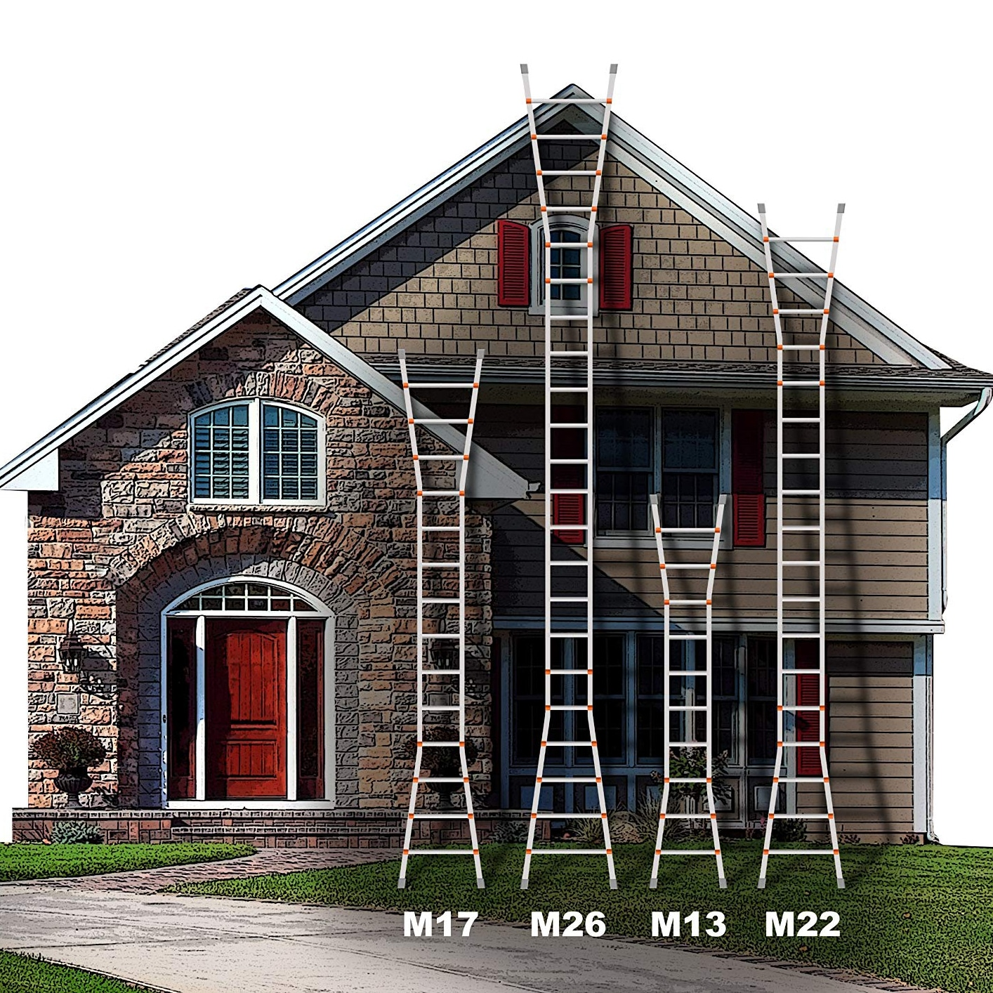 Little Giant 14013 Multi Ladder