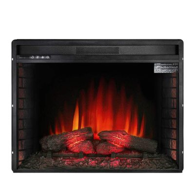 Allsees Electric Fireplace Insert 33-Inches