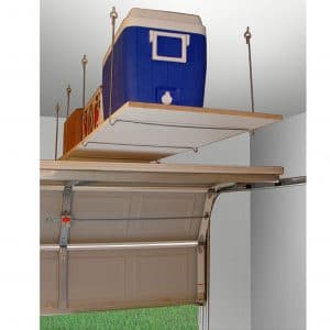 Quick-Shelf Overhead Garage Overhead Storage Rack