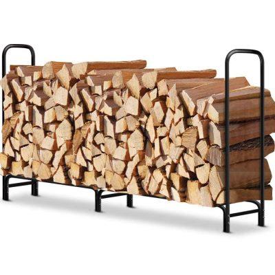 Amagabeli Garden & Home Firewood Log Rack
