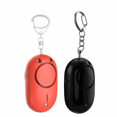 DaCool Personal 2 Pack Personal Self-Defense Alarm with LED Light