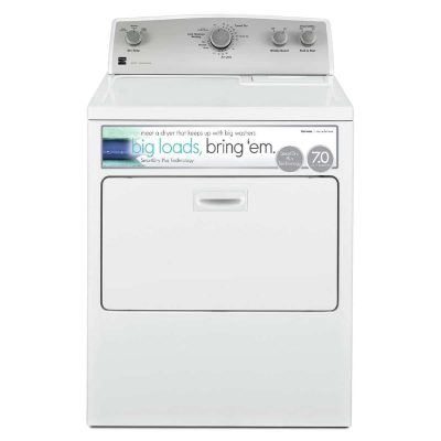 Kenmore 65132 7.0 CU electric dryer with SmartDry technology