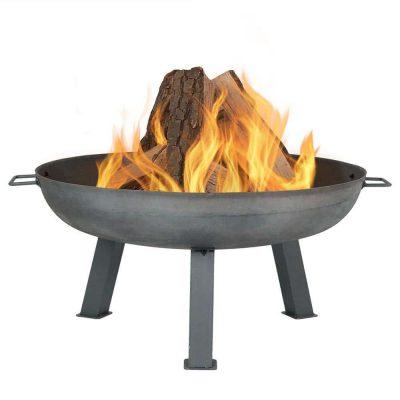 Sunnydaze 30-Inch Large Fire Pit Bowl