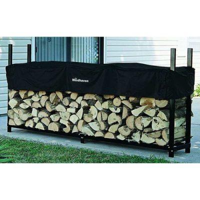 Woodhaven 8-Foot Firewood Rack