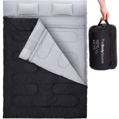 Active Era Double Sleeping Bag with 2 Pillows