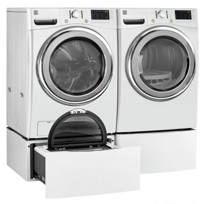 Kenmore 8138 7.4 electric dryer with steam in white