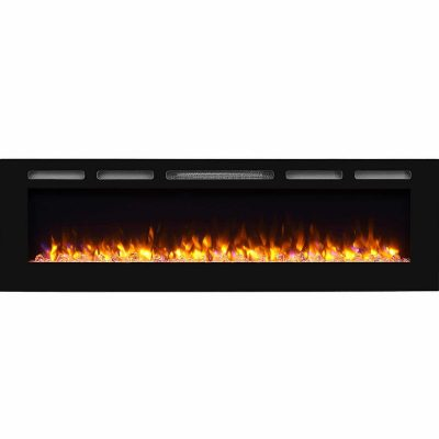 PuraFalme Alice Recessed Electric Fireplace Inserts