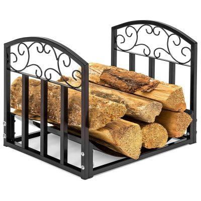 Best Choice Firewood Fireplace Log Rack