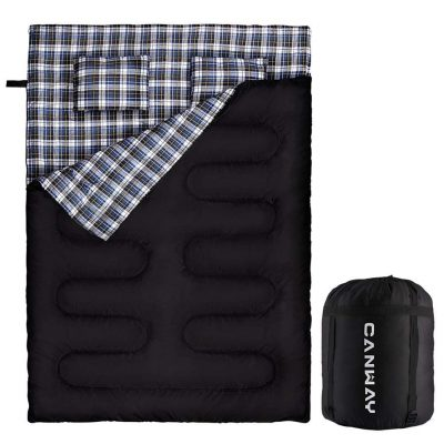Canway Double Sleeping Bag Flannel Sleeping Bags