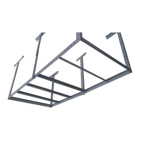 Bigbear Iron Storage Rack for Overhead Garage Use