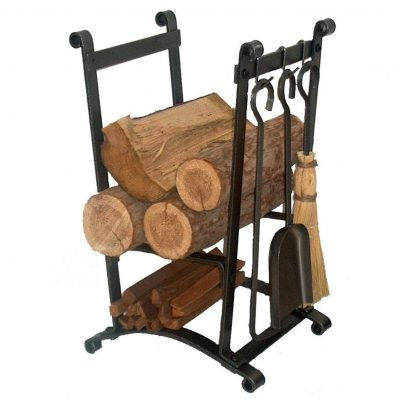Enclume Compact Curved Firewood Log Rack