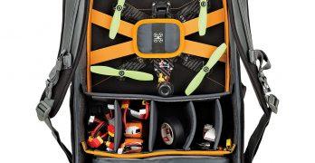 Lowepro Quad Guard Black Grey BP X2 Drone Backpack
