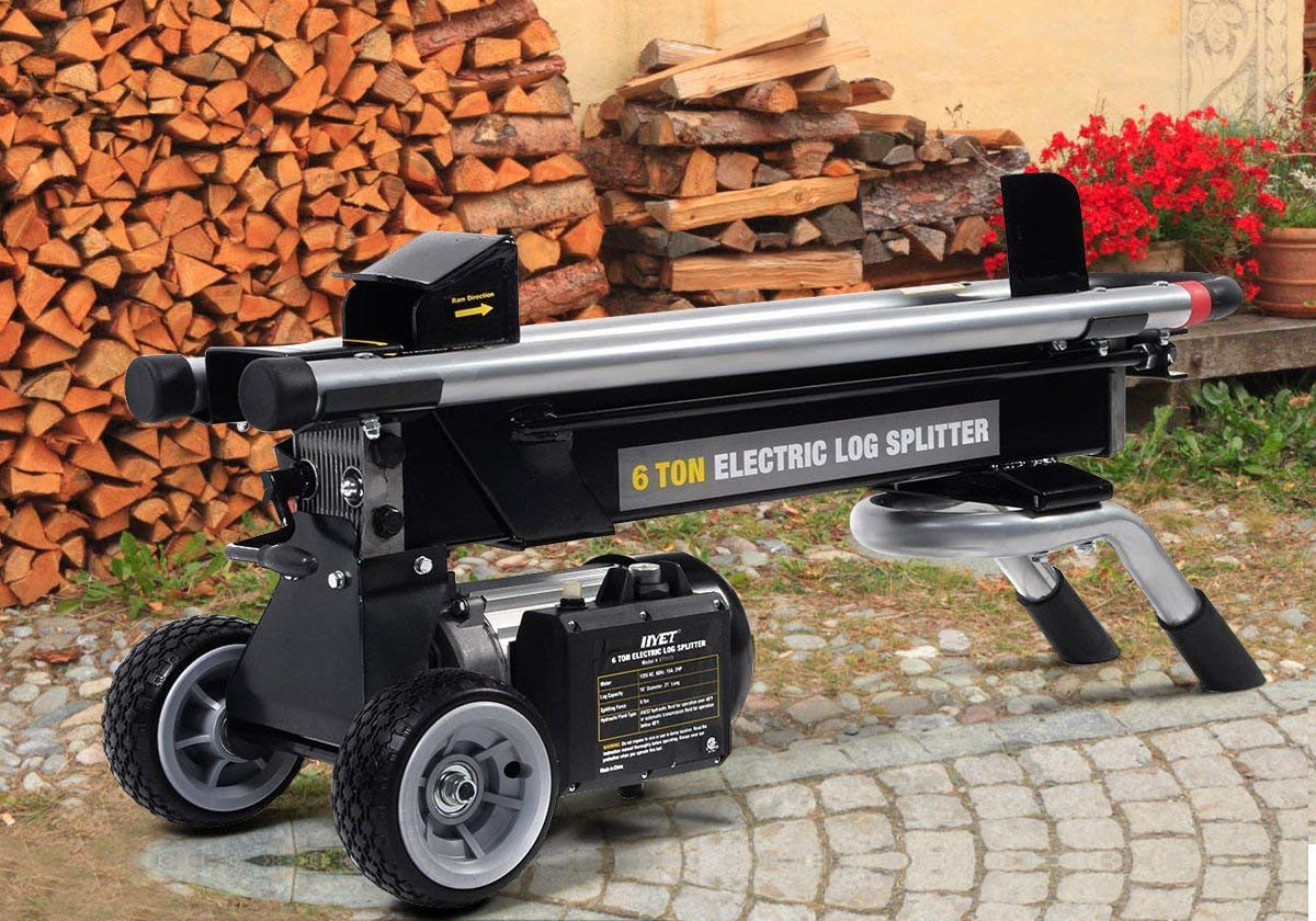 Top 10 Best Electric Log Splitters in 2020 Reviews | Buyer's Guide