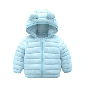 CECORC Winter Coats Kids Hoods Light Baby Puffer Jacket