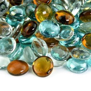 Fire Pit Essentials Shabby Chic Blended Fire Glass Beads