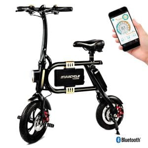 SWAGTRON SwagCycle E-Bike Folding Electric Scooter